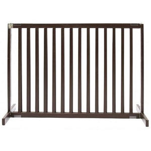Free Standing Pet Gate - Large Tall/Black