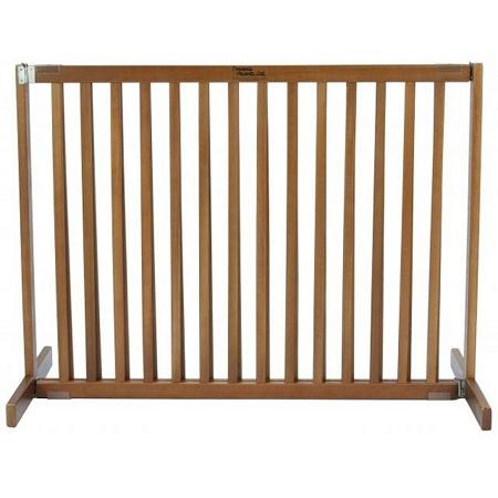 Free Standing Pet Gate - Small Tall/Artisan Bronze