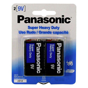 9 Volt Battery 2 Pack