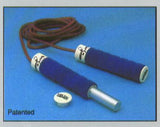 Weight Adjustable Leather Jump Rope 2 Lb.