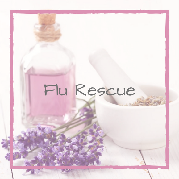 Flu Rescue - For Boosting the Immune System Therapeutic Oil
