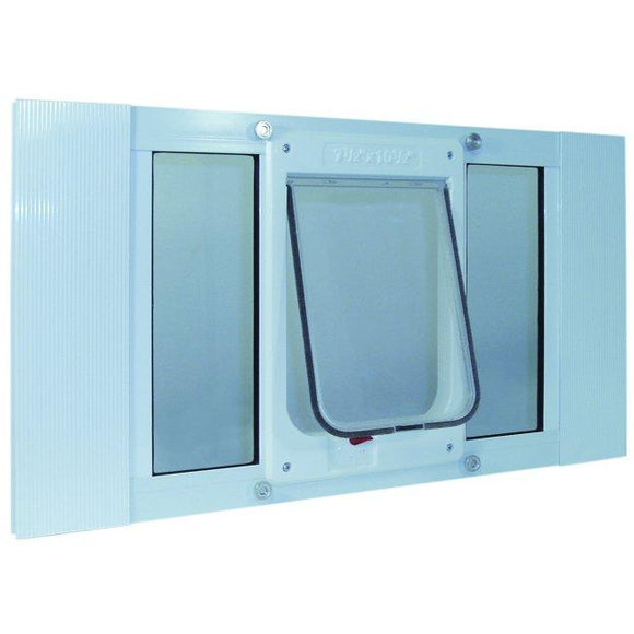 Aluminum Sash Window Chubby Kat Door - 27-32 Inches