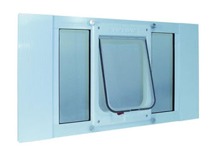 Aluminum Sash Window Chubby Kat Door - 33-38 Inches