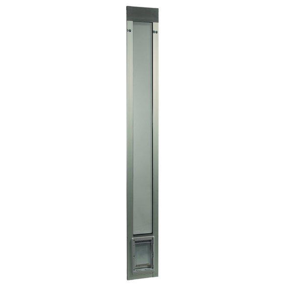 Fast Fit Pet Patio Door - Small/Silver Frame 75