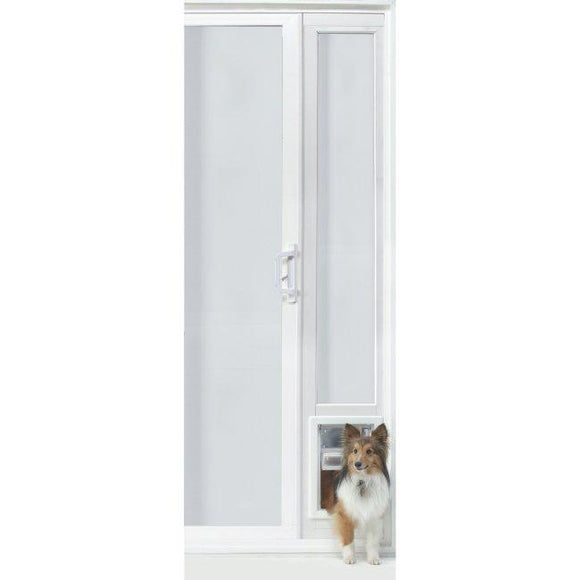 VIP Vinyl Insulated Pet Patio Door - Medium/76 3/4