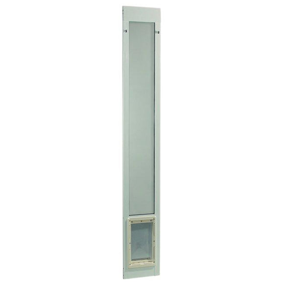 Fast Fit Pet Patio Door - Medium/White Frame 77 5/8