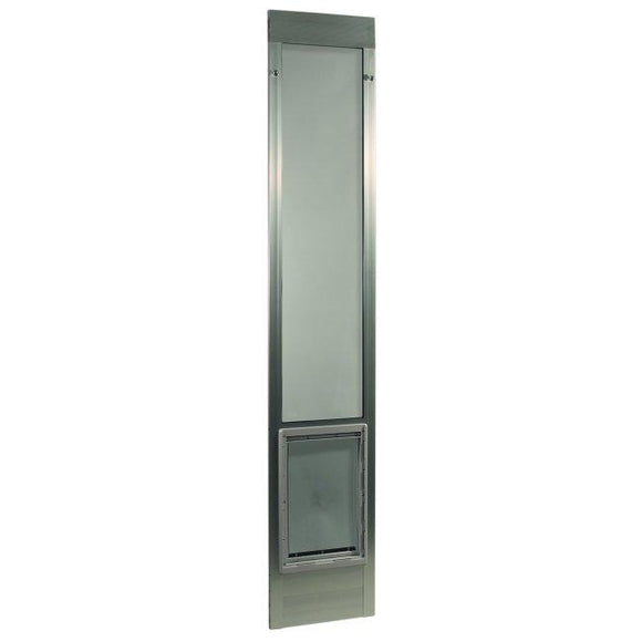 Fast Fit Pet Patio Door - Extra Large/Silver Frame 77 5/8