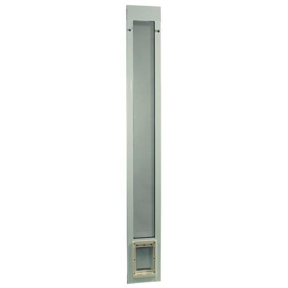Fast Fit Pet Patio Door - Small/White Frame 93 3/4