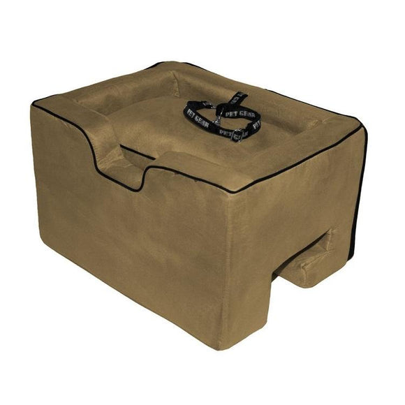 Pet Car Booster Seat - Medium/Tan
