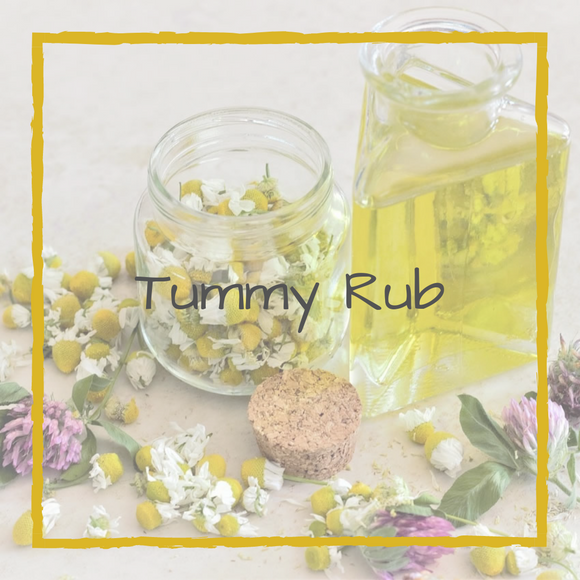 Tummy Rub Massage Oil