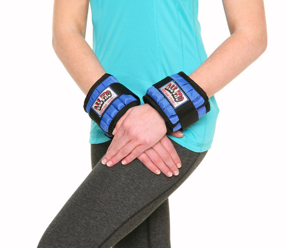 Adjustable Wrist Weights 4 Lb. PAIR