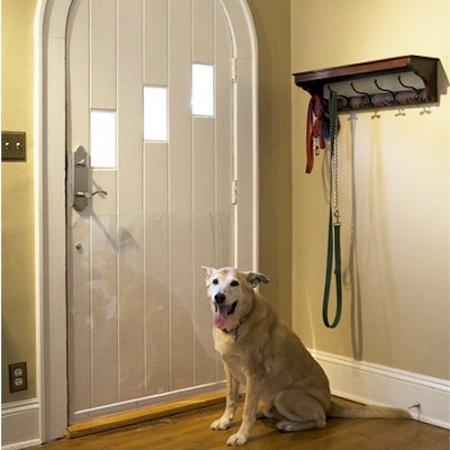 Pet Door Shield Scratch Protection