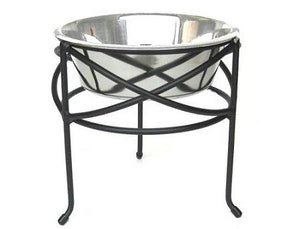 Mesh Elevated Dog Bowl - Large
