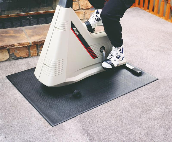 Exercise Bike / Stepper Mat 3' x 4'