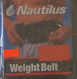 "4"" Nautilus Economy Weight Lifting Belt"