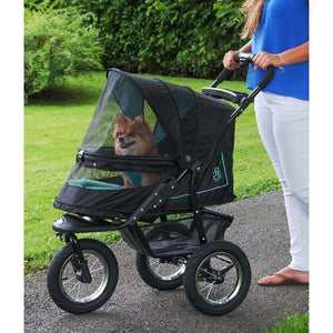 NV No-Zip Pet Stroller - Skyline