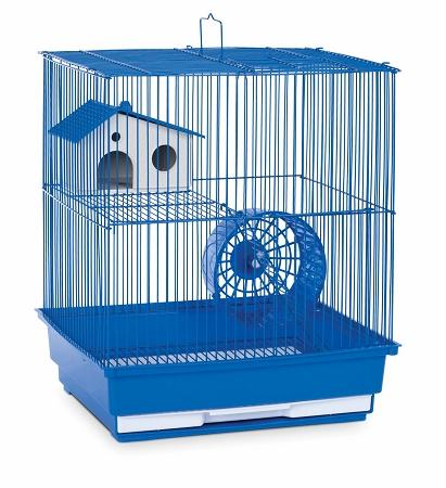 Two Story Hamster & Gerbil Cage - Blue