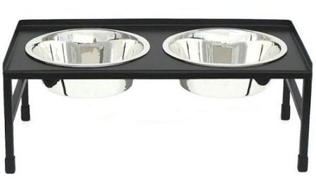 Tray Top Elevated Dog Bowl - Small