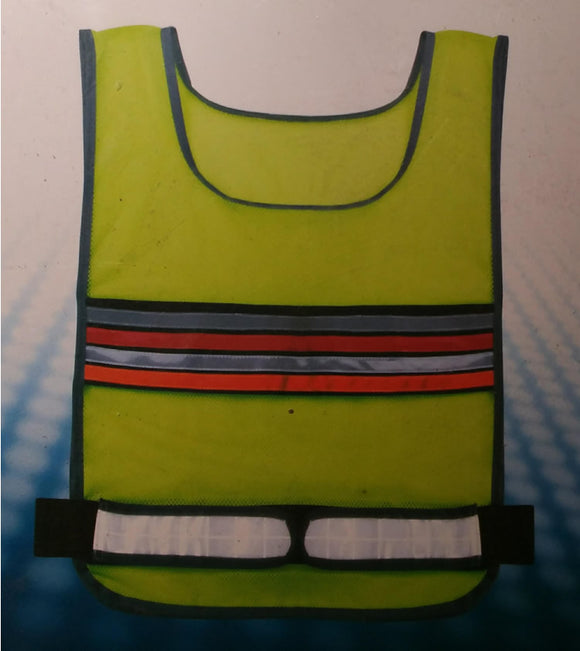 Walking Reflective Vest w/Zipper Pouch