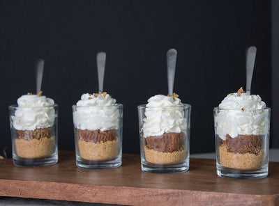 Chocolate CheeseCake Shooters