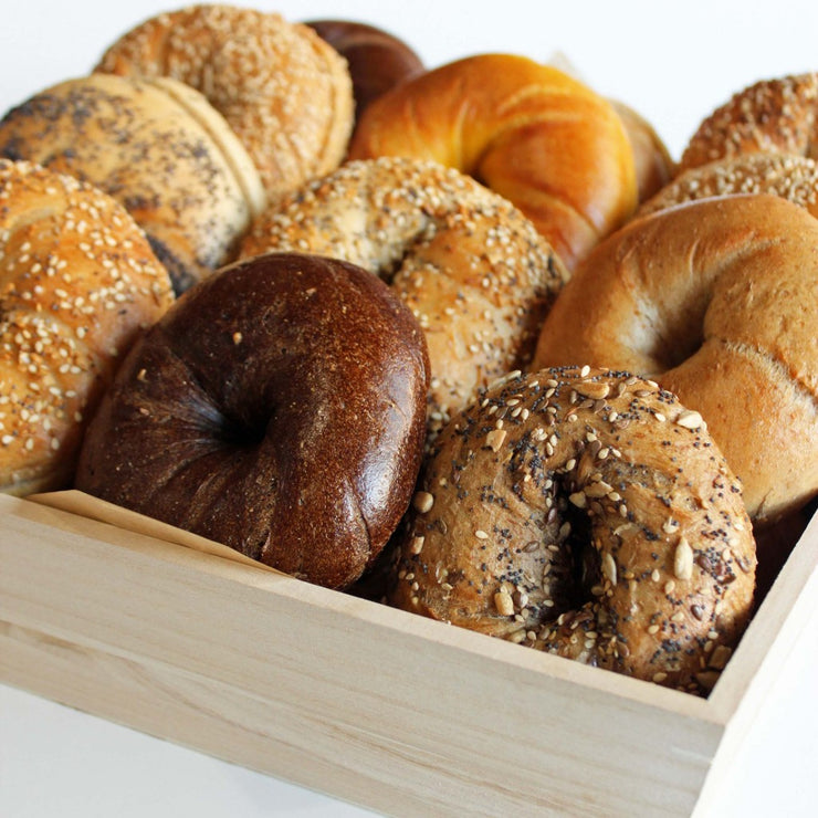 Assorted BAGELS & Cream Cheese
