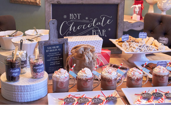 HOT CHOCOLATE BAR package