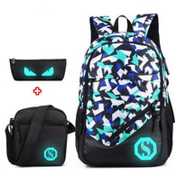 Luminous Laptop Backpack Set