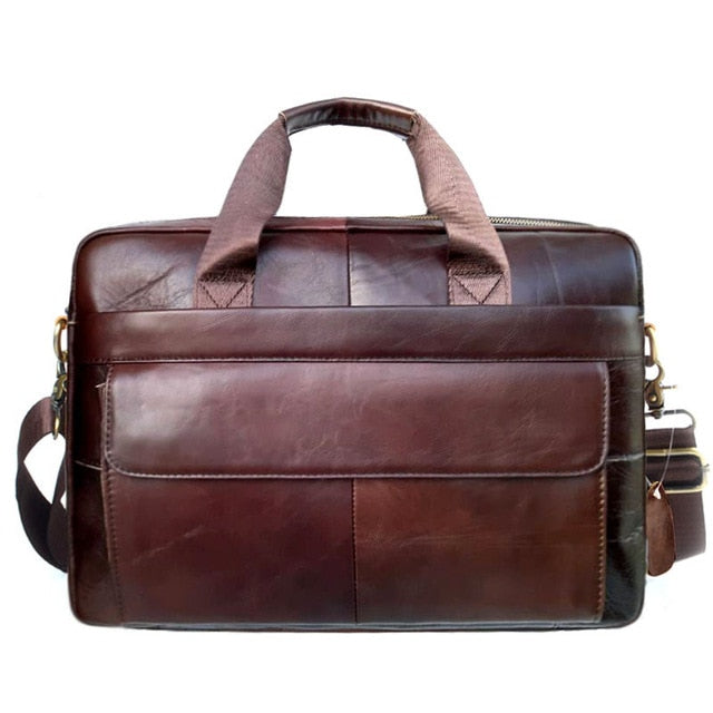 Executive Leather Combi-bag