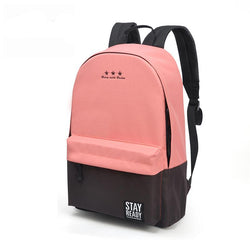 Trendy Colourful School Backpack