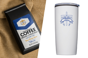 Pack 3: 1 Jesus Strong Java Coffee, 1 Holy Angels Tumbler