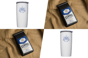 Pack 5: 2 packs of Jesus Strong Java, 2 Holy Angelsl Tumblers