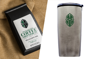 Pack 3: 1 bag Titan Cup O' Joe Coffee, 1 Titan Tumbler