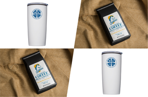 Pack 5: 2 packs of ReCHARGERS Coffee Blend, 2 St. Charles School Tumblers