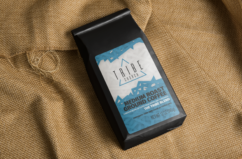 Tribe Church Signature Coffee, Single 12oz Bag