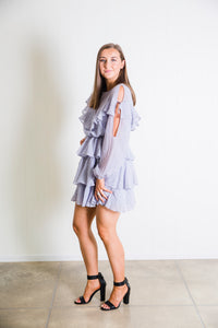 Hazel Ruffle Dress