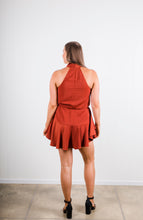 Load image into Gallery viewer, Shona Joy Drawstring Mini Dress