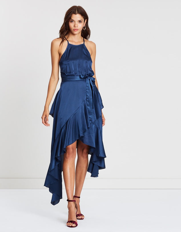 Christina Ruffle Dress