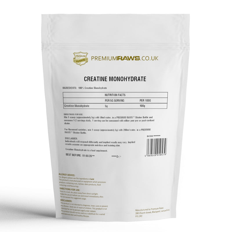 Creatine Monohydrate Powder | 100%