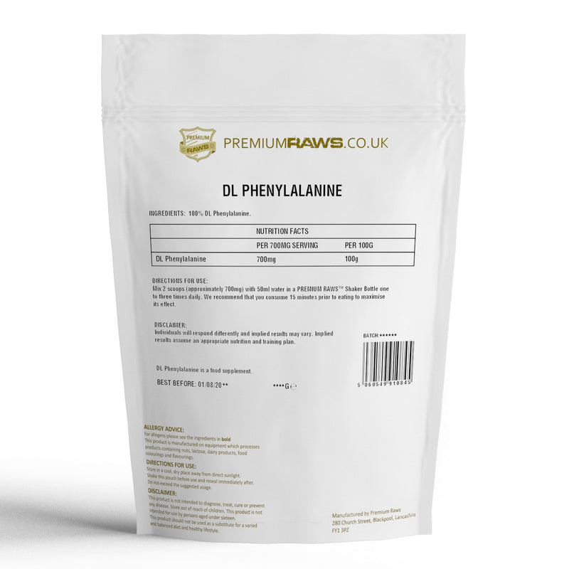 DL Phenylalanine Powder | Essential Amino Acid | 100%