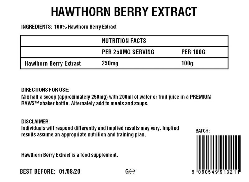 Hawthorn Berry Powder | Extract