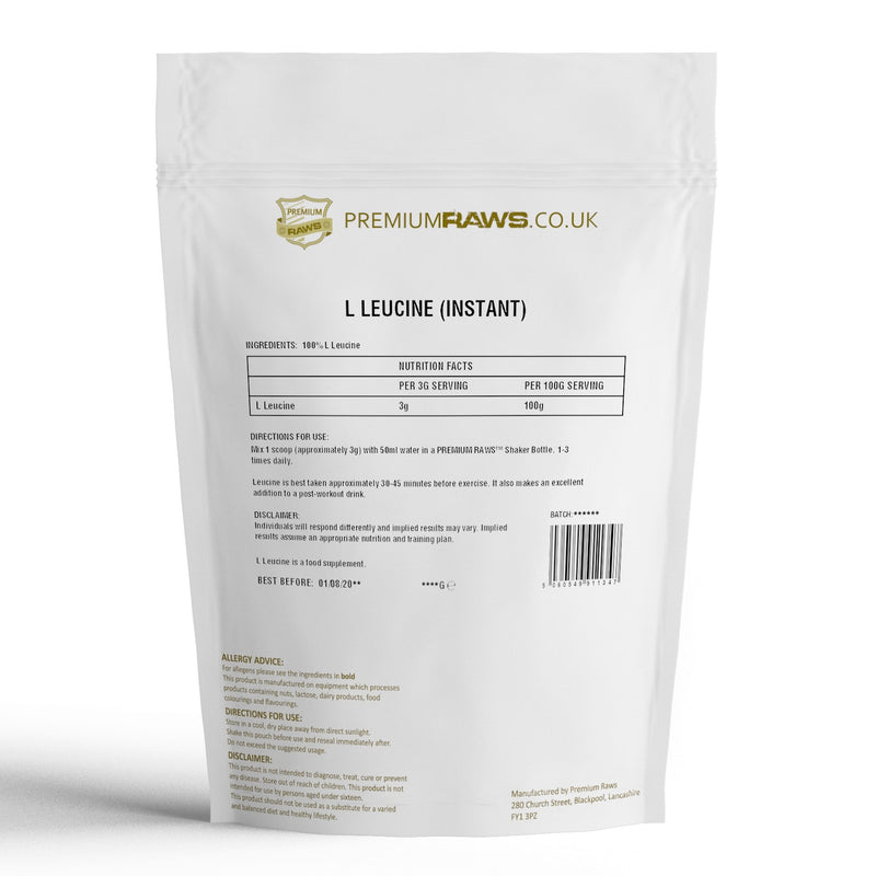 L-Leucine Powder | Amino Acid | 100%
