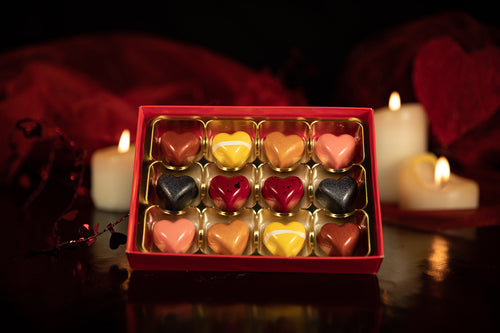 Box of 12 Valentines Chocolates