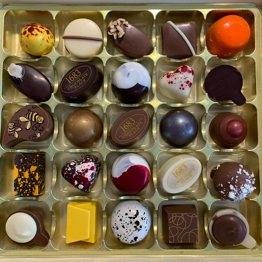 The Chocolatiers Selection Box of 25 Chocolates