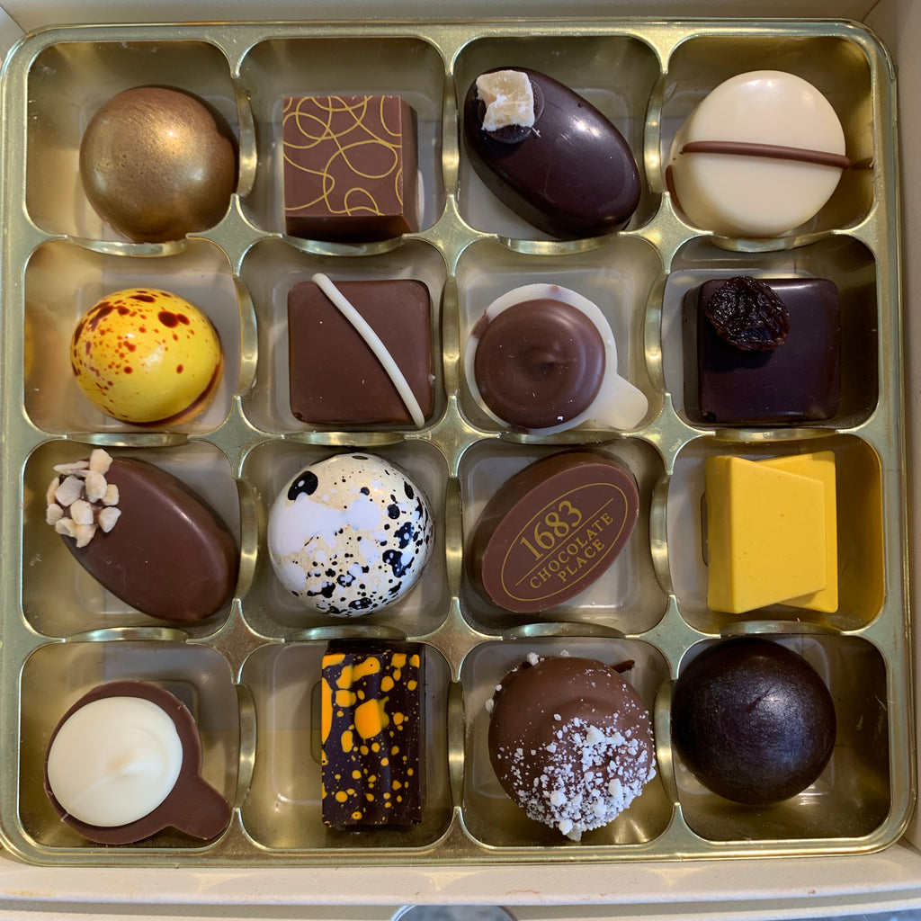Long Shelf Life Box of 16 Chocolates