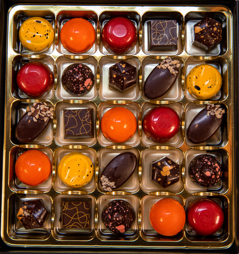 Box of 25 Vegan Chocolates