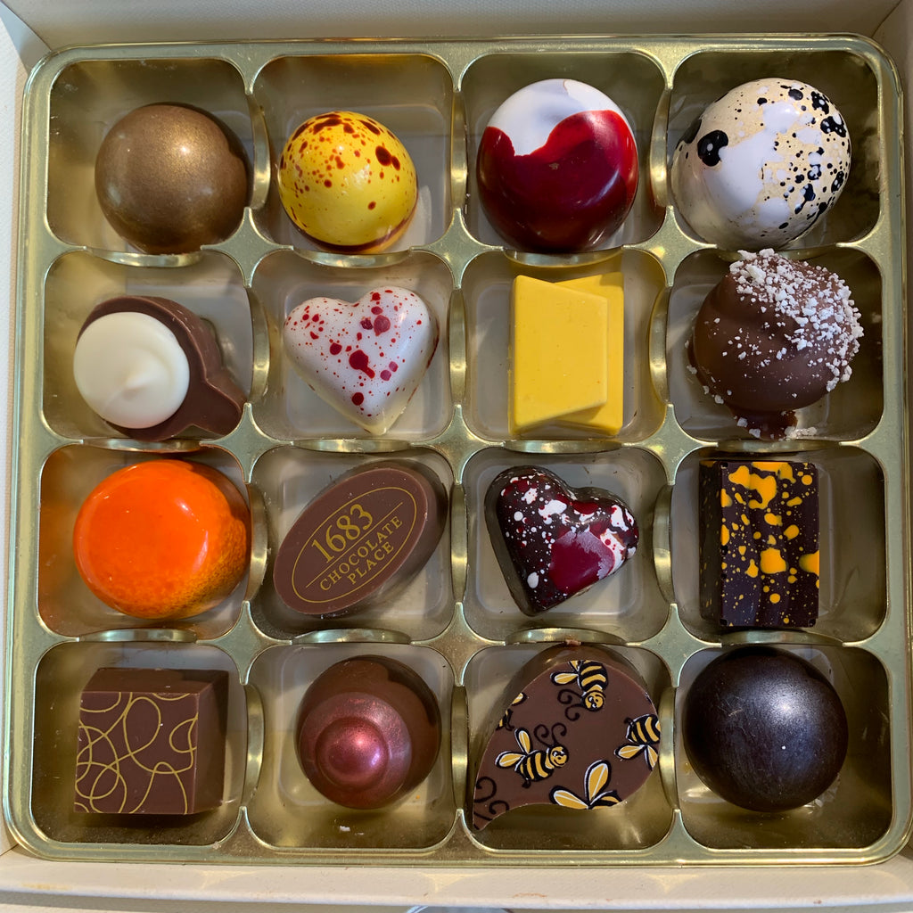 The Chocolatiers Selection Box of 16 Chocolates