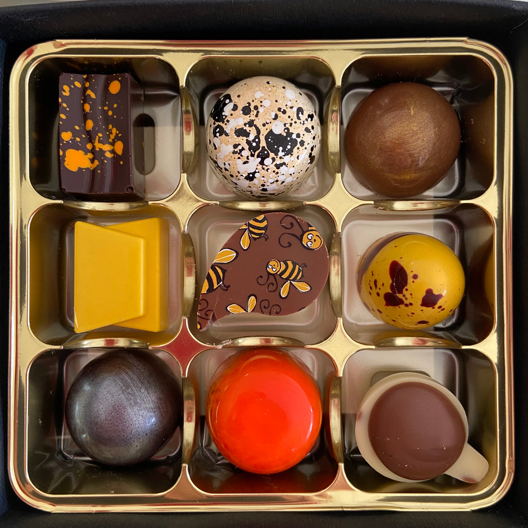 The Chocolatiers Selection Box of 9 Chocolates