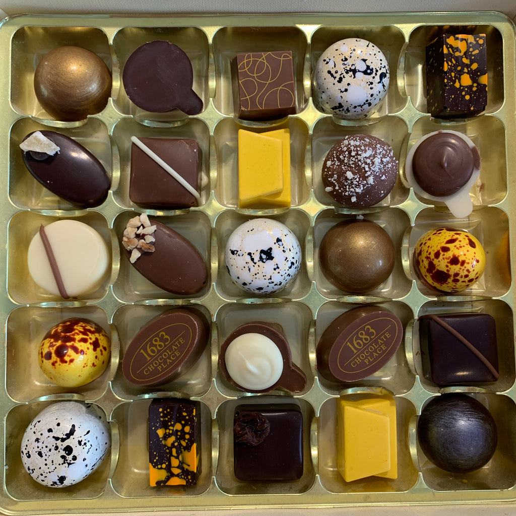 Long Shelf Life Box of 25 Chocolates