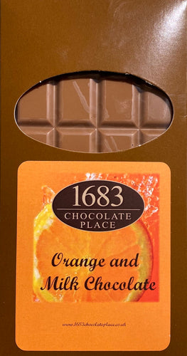 Milk Chocolate with Orange Bar