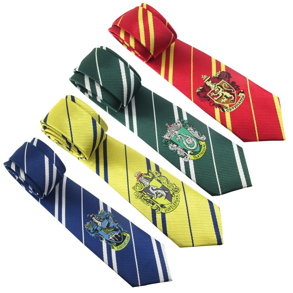 Hogwarts House Ties
